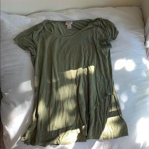 Cute target army green shirt